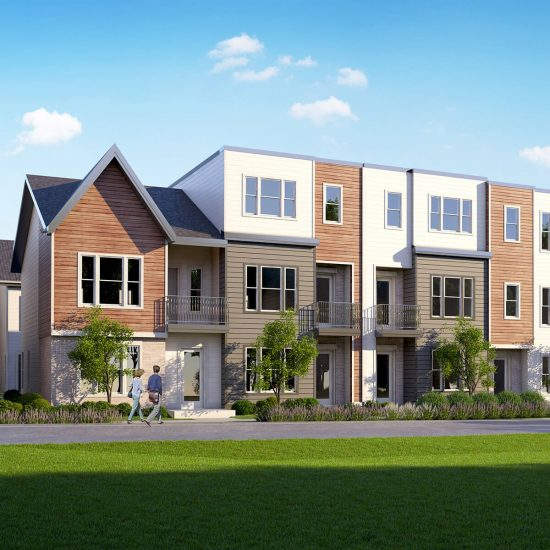 Red Seal Homes presents 2aves, customizable townhomes built around you, in Nashville.