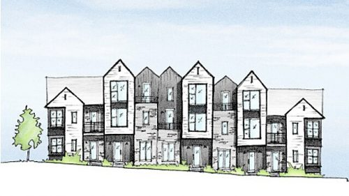 New Nashville Townhomes Located in The Nations near Centennial Boulevard